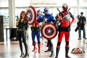 Cosplay event at New York Comic Con
